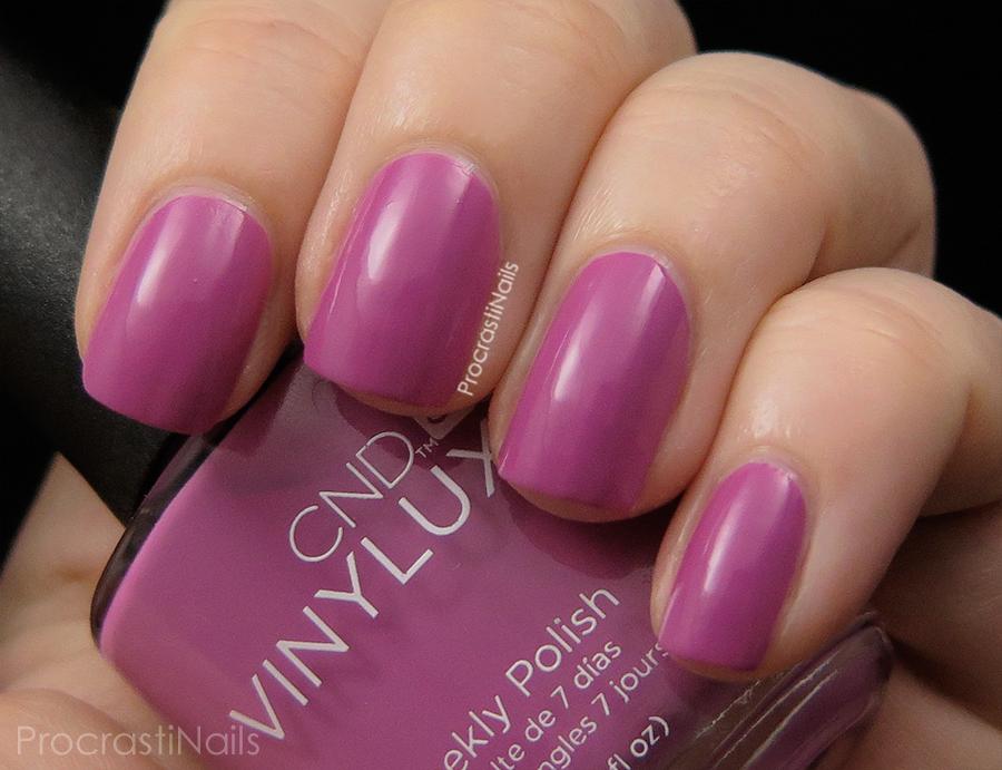 Swatch of Crushed Rose a soft pink creme nail polish