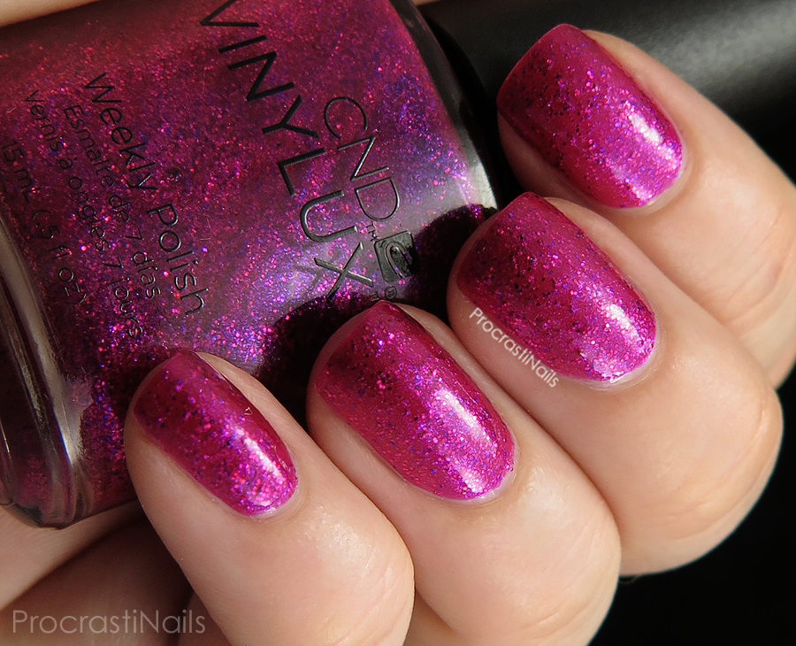 Swatch of Butterfly Queen from the CND Vinylux Garden Muse Collection