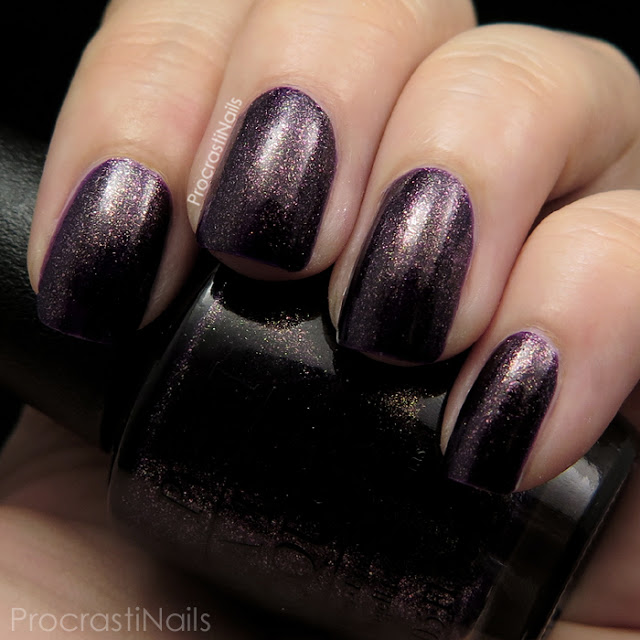 Swatch of OPI First Class Desires from the 2014 Gwen Stefani Holiday Collection