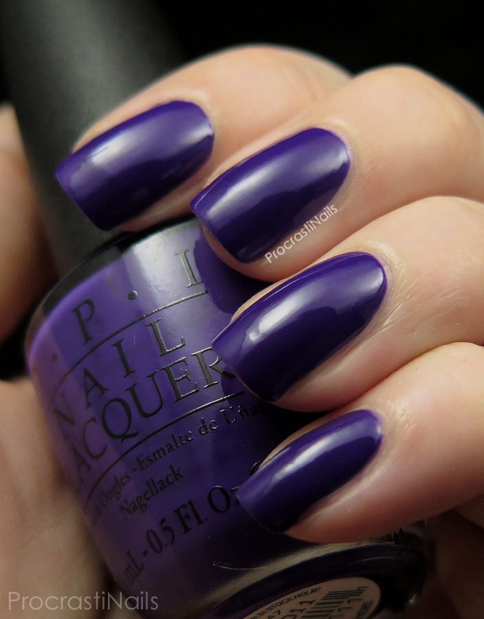 Swatch of OPI Do You Have This Color In Stock-Holm? a deep grape creme
