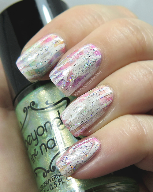 The Digit-al Dozen Does Birthdays Unicorn Wood Nails