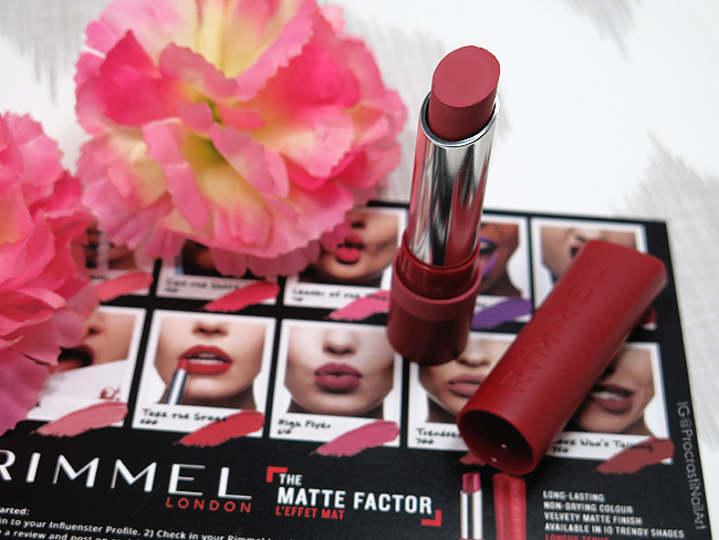 Rimmel London Only 1 Matte Lipstick in High Flyer